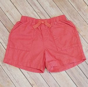 Girl's Tea Linen Blend Shorts - Size 10